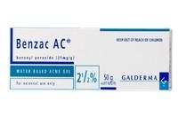 Benzac AC Gel 2.5% for Acne Treatment (50g)