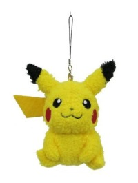 Pokemon: Fluffy Mascot Charm with Jack (Pikachu)