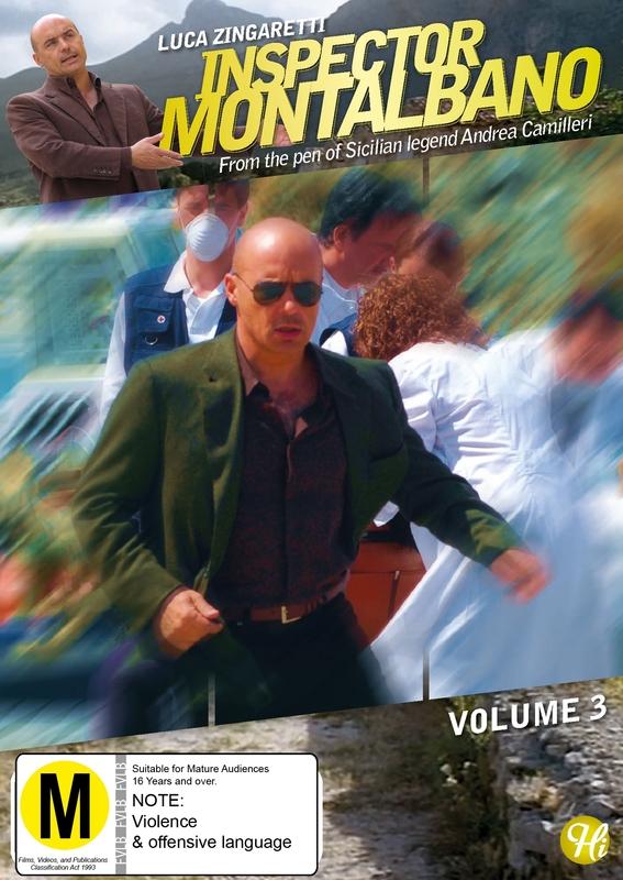 Inspector Montalbano - Vol 3 on DVD