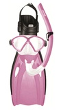 Mirage: F05 Comet - Junior Mask, Snorkel & Fin Set - Large (Pink)