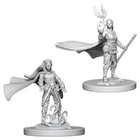D&D Nolzur's Marvelous: Unpainted Miniatures - Elf Female Druid