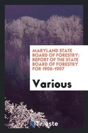 Maryland State Board of Forestry by Various ~ image