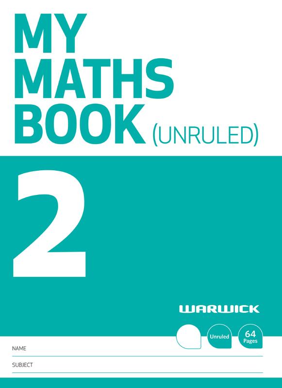 Warwick: My Maths Book 2 - Unruled