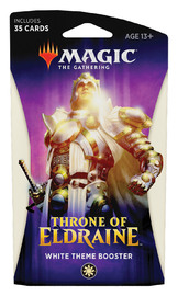 Magic The Gathering: Throne of Eldraine White Theme Booster image