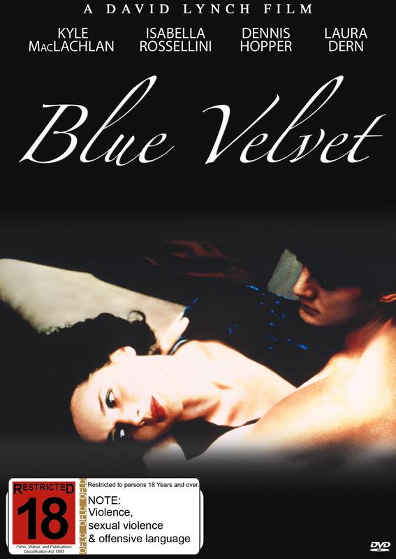 Blue Velvet - Special Edition on DVD