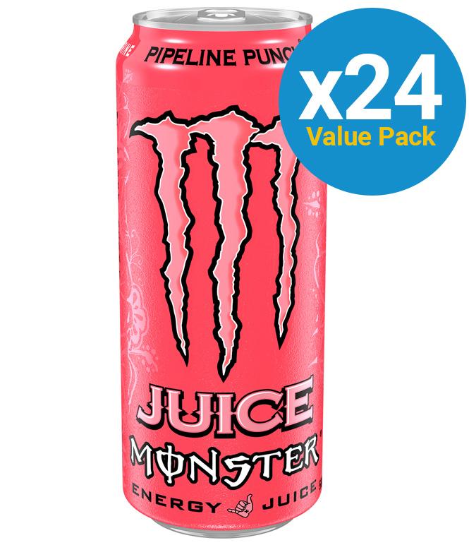 Monster Energy Juice Pipeline Punch 500ml (24 Pack) image