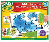My First Mess Free Water Colour Creations - Crayola