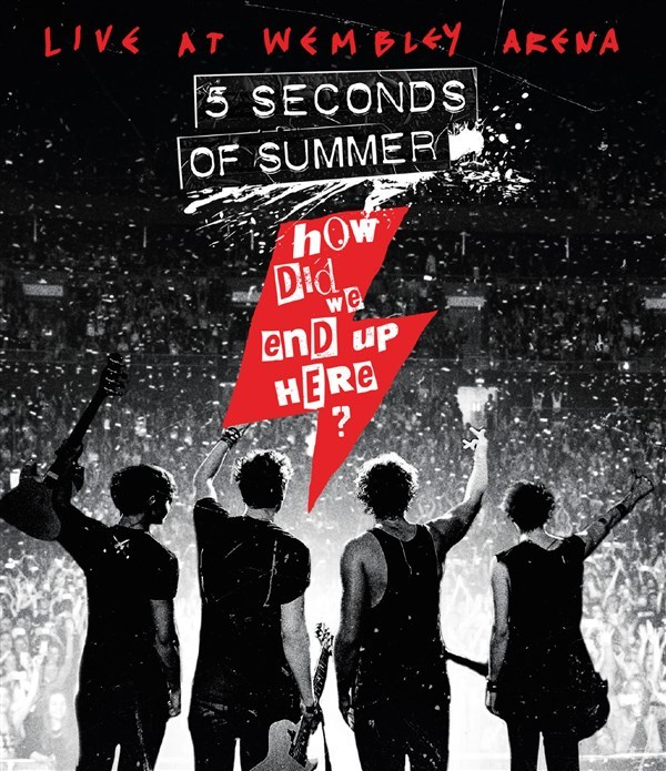 5 Seconds Of Summer - How Did We End Up Here? Live At Wembley Arena on Blu-ray image