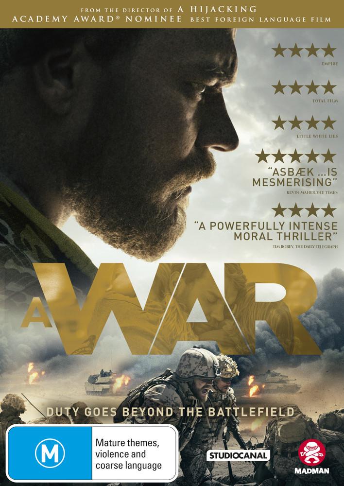 A War on DVD image
