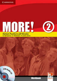 More! Level 2 Workbook with Audio CD: Level 2 by Christian Holzmann image