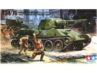 "Tamiya 1/35 Russian T34/76 ""ChTZ Version"" - Model Kit"