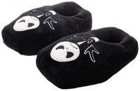 Nightmare Before Christmas Glow in the Dark Jack Coffin Premium Slippers: L
