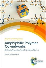 Amphiphilic Polymer Co-networks