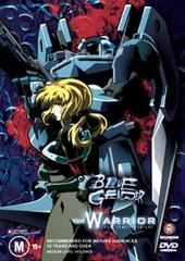 Blue Gender Movie - The Warrior on DVD