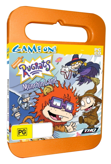 Rugrats Munchin Land - Toy Case for PC Games