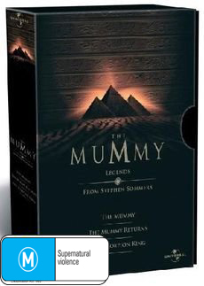 The Mummy - Legends Box Set on DVD image