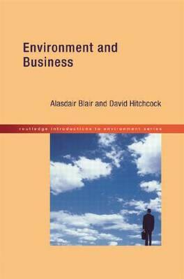 Environment and Business by Alasdair Blair image