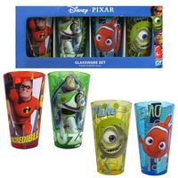 Pixar Characters Pint Glass (Set of 4)
