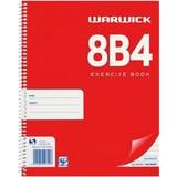 Warwick 8B4 50 Leaf Spiral Notebook