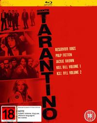 Quentin Tarantino Boxset on Blu-ray