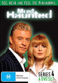 Most Haunted - Complete Series 4 (4 Disc Set) on DVD image