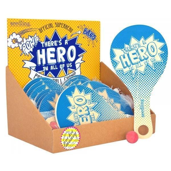 Seedling: Superhero - Paddle Ball
