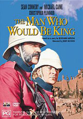 The Man Who Would Be King on DVD