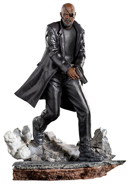 Spider-Man: FFH - 1/10 Nick Fury - Battle Diorama Statue