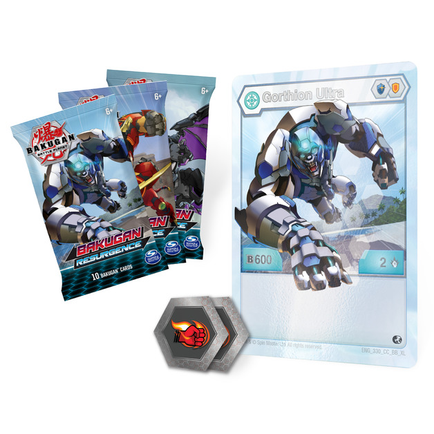 Bakugan: Battle Planet - Card Collector Pack (Gorthion Ultra)