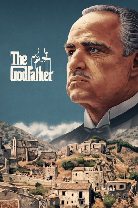 Godfather: Premium Art Print - Sicily