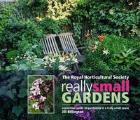 RHS Really Small Gardens by Jill Billington image