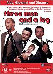 Three Men And A Leg on DVD