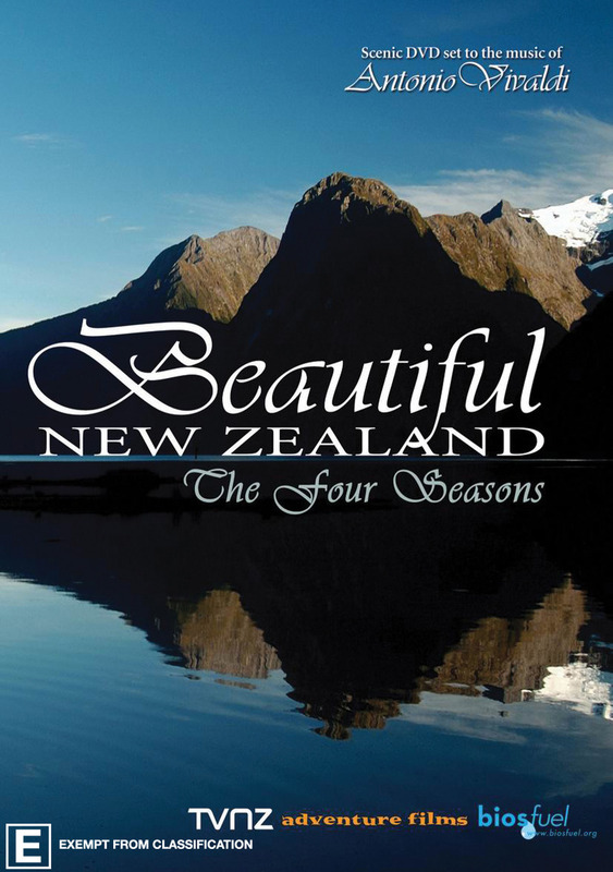Beautiful New Zealand on DVD