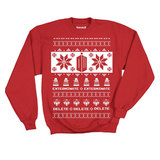 Doctor Who Villains Red Ugly Christmas Sweater (Small)
