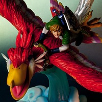 Zelda Link on Loftwing Statue
