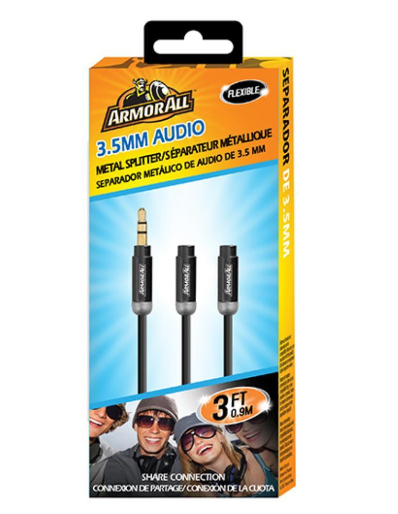 Armor All: Metallic Audio 3.5mm Splitter (0.9M) image