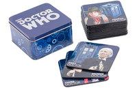 Doctor Who Coaster Set with Tin Storage Box
