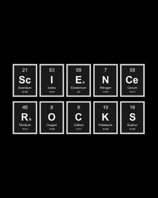Science Rocks by Chalex Periodic Notebooks