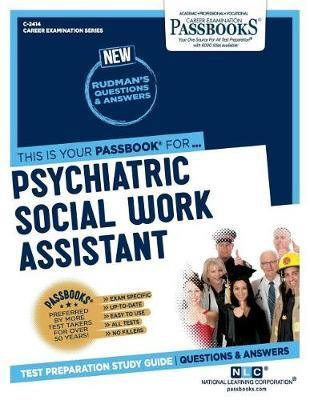 Psychiatric Social Work Assistant by National Learning Corporation