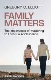 Family Matters by Gregory C Elliott image