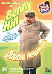 Benny Hill Double Helpings on DVD