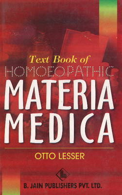 Textbook of Homoeopathic Materia Medica by Otto Lesser image
