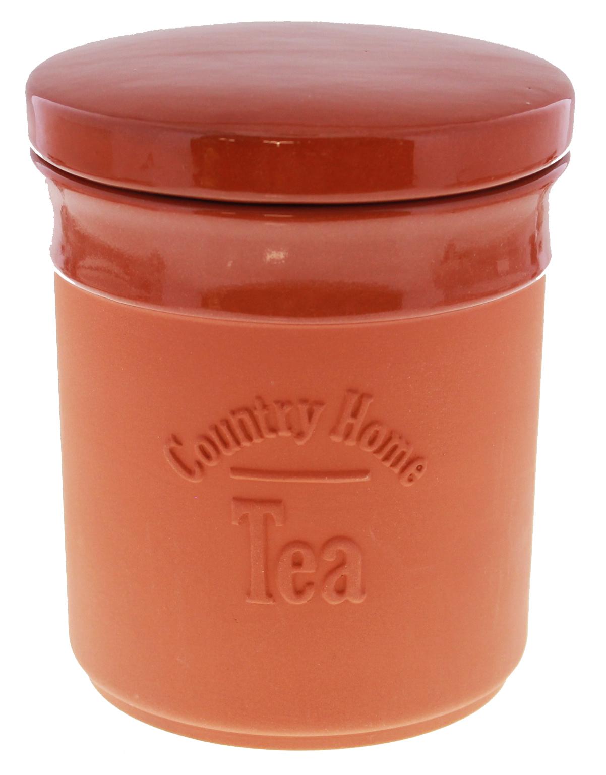 Terracotta Tea Canister image
