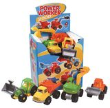 Power Worker Assorted Construction Vehicle