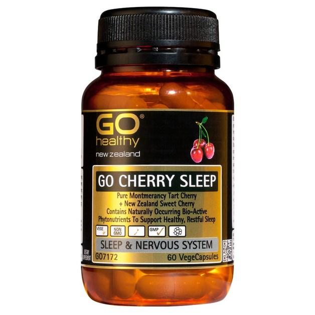 Go Healthy: GO Cherry Sleep (60 Capsules)