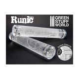 Green Stuff World Texture Rolling Pin: Runic
