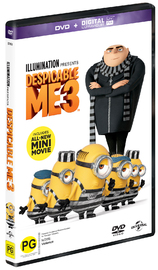 Despicable Me 3 on DVD image