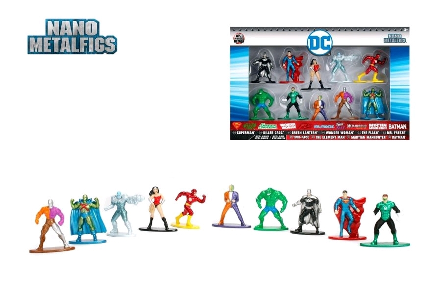 Jada Metal Minis: DC Comics - Nano Metalfigs 10-Pack image