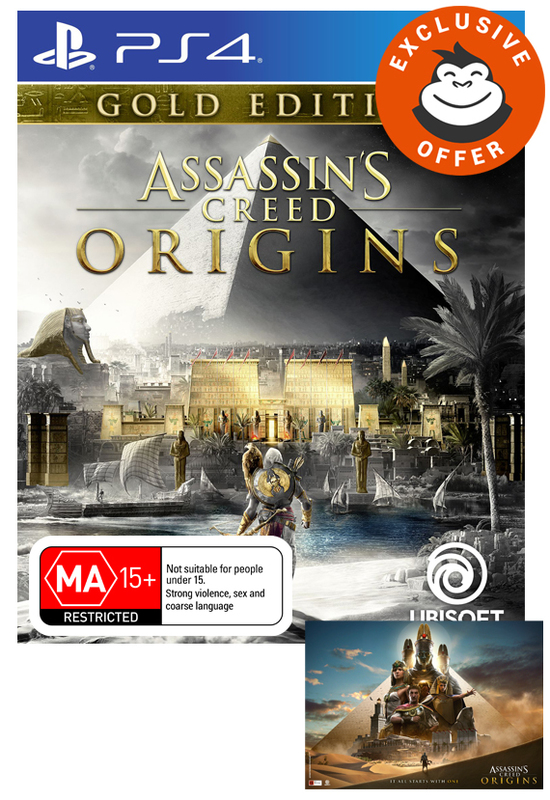 Assassin's Creed Origins Gold Edition for PS4