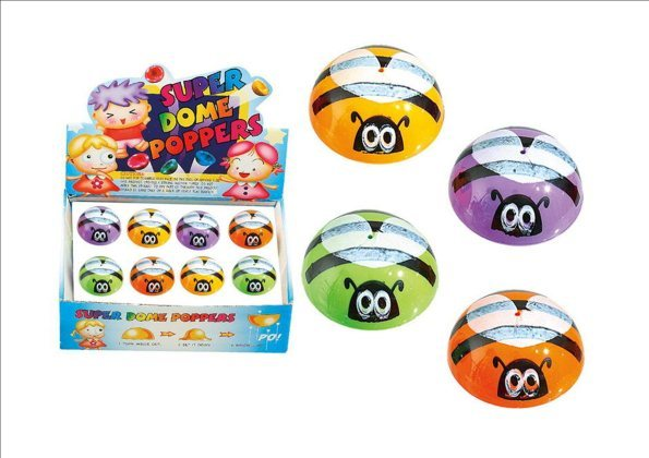 Bee Dome Popper - (Assorted Colours)